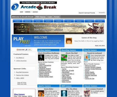 Product picture TURNKEY ARCADE WEBSITE SCRIPT + 3,400 GAMES + ADSENSE